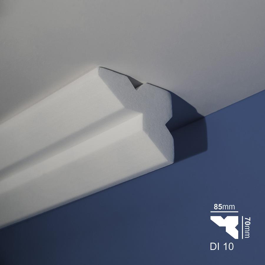 Stiropor lajsne - skrivači led rasvete - Di 10 - plafon