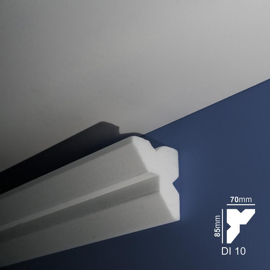 Stiropor lajsne - skrivači led rasvete - Di 10 - zid