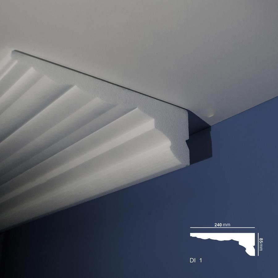 Stiropor lajsne - skrivači led rasvete - Di - 1 - plafon