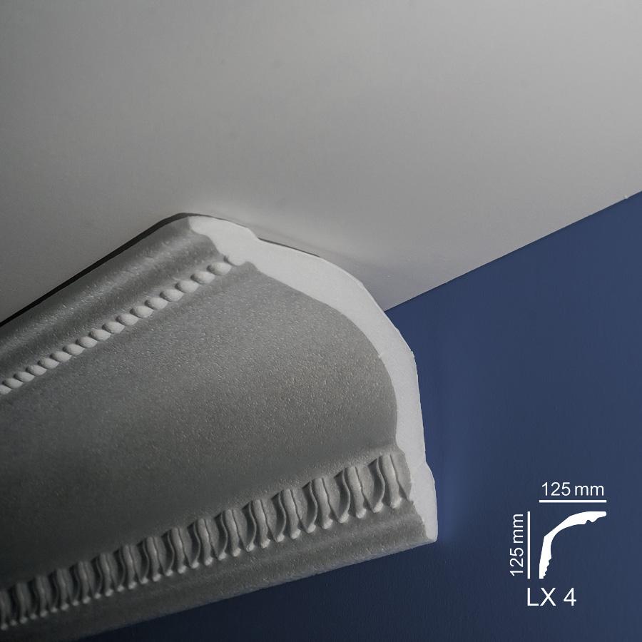 Ugaone stiropor lajsne - LX 4