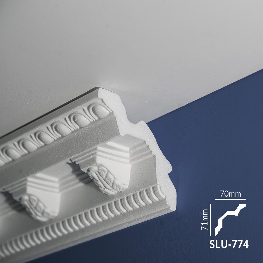 Ugaone stiropor lajsne - SLU 774