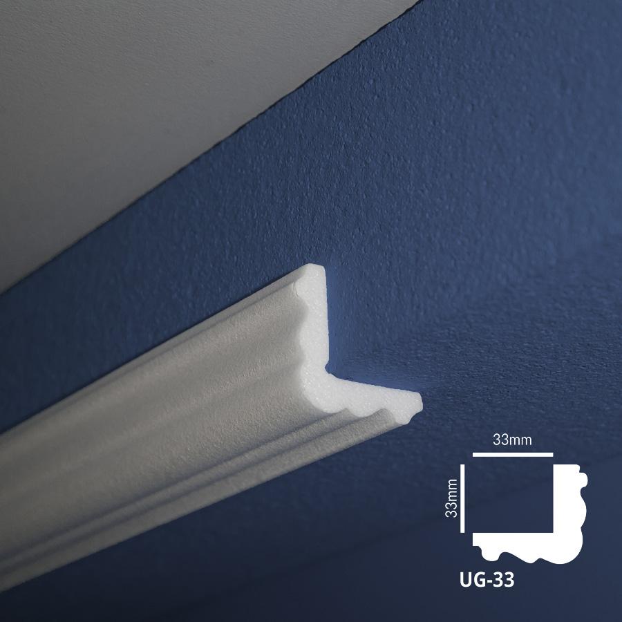 Ugaone stiropor lajsne - UG 33