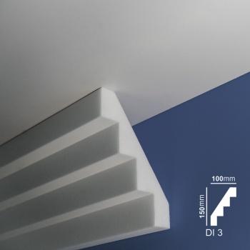 Ugaone stiropor lajsne - Di 3
