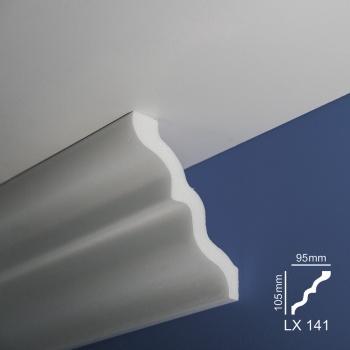 Ugaone stiropor lajsne - LX 141