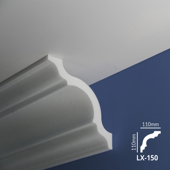 Ugaone stiropor lajsne - LX 150