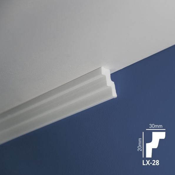 Ugaone stiropor lajsne - LX 28