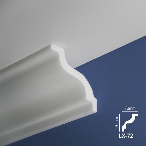 Ugaone stiropor lajsne - LX 72