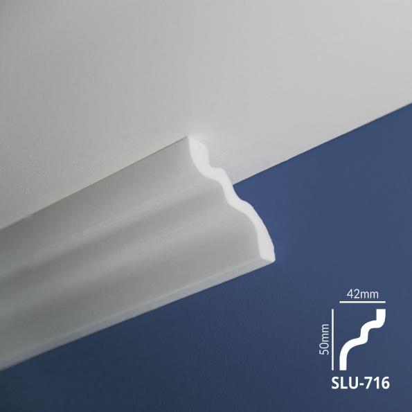 Ugaone stiropor lajsne - SLU 716