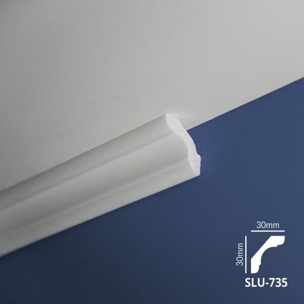 Ugaone stiropor lajsne - SLU 735