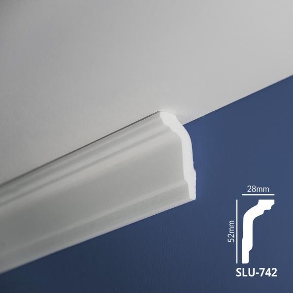 Ugaone stiropor lajsne - SLU 742